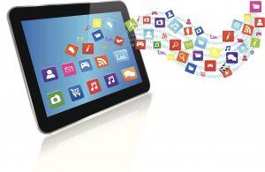 Tablet PC with application cloud
