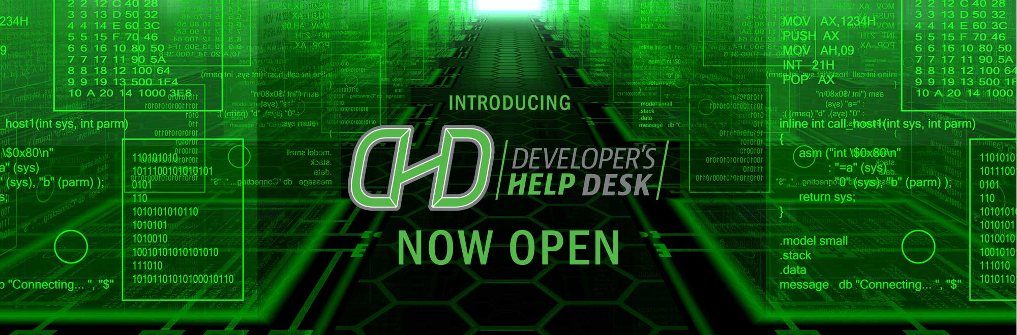 The DHD is now open